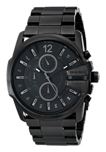 Diesel Diesel Men's DZ4180 DieselMaster Chief Analog Display Analog Quartz Black Watch
