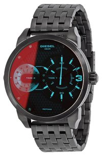 Diesel DZ7340 Mini Daddy Men's Black Stainless Wrist Watch
