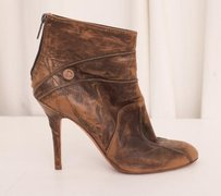 Dior Christian Womens Brown Boots