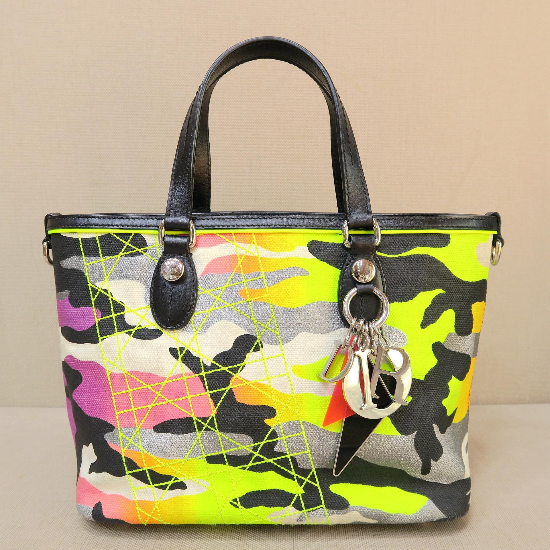 Dior Christian Limited Anselm Reyl Camouflage Yellow and ...