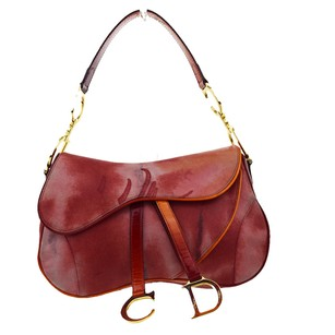 Dior Christian Leather Shoulder Bag