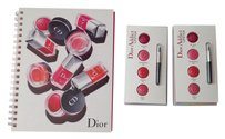 Dior Dior Sketch Book and Multicolor Dior Addict Lipstick Samples