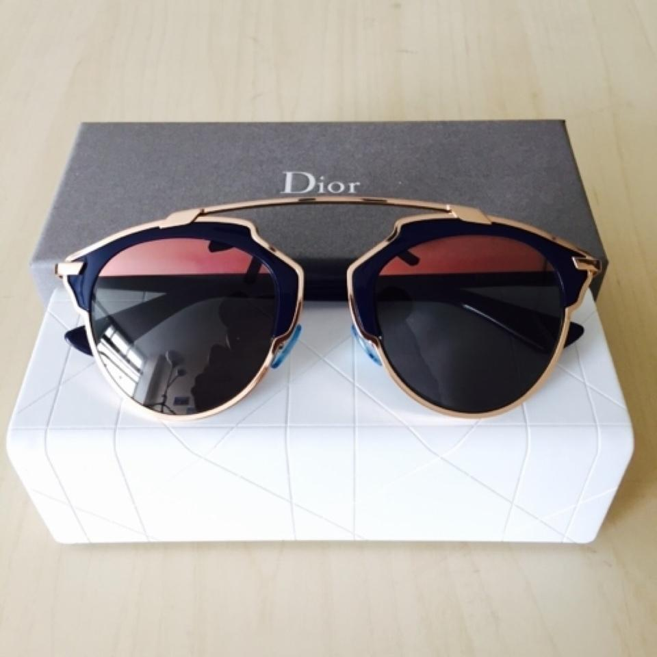 pink So Real metal sunglasses - Pink & Purple Dior