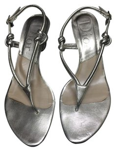 Dior Strappy Sandal Silver Sandals