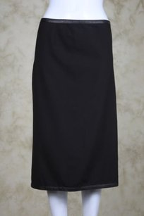 DKNY Womens A Line Skirt 2 Tone Brown