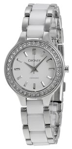 DKNY DKNY Ceramica White Dial Ladies Watch NY8139