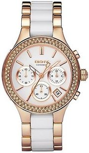 DKNY Dkny Chronograph Rose Gold Ladies Watch Ny8183