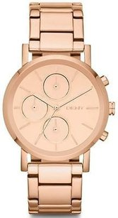 DKNY Dkny Rose Gold-tone Chronograph Ladies Watch Ny8862