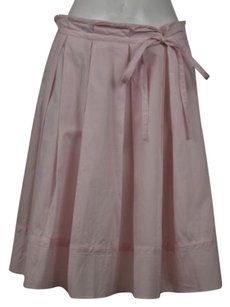 DKNY Womens Solid Skirt Pale Pink