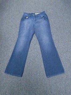 DKNY Wash Cotton Blend Low Rise Soho 2347a Straight Leg Jeans