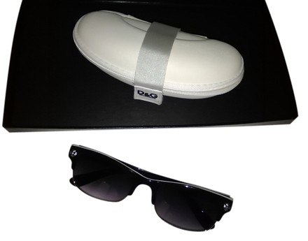 Preload https://item1.tradesy.com/images/dolce-and-gabbana-black-with-white-case-retro-sunglasses-5161180-0-0.jpg?width=440&height=440