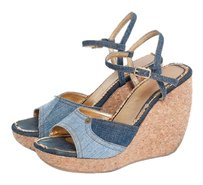 Dolce&Gabbana Denim Wedges