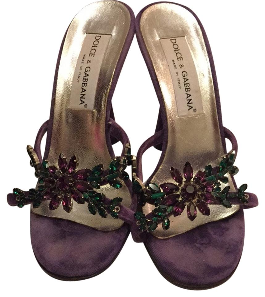 Purple And Green Heels