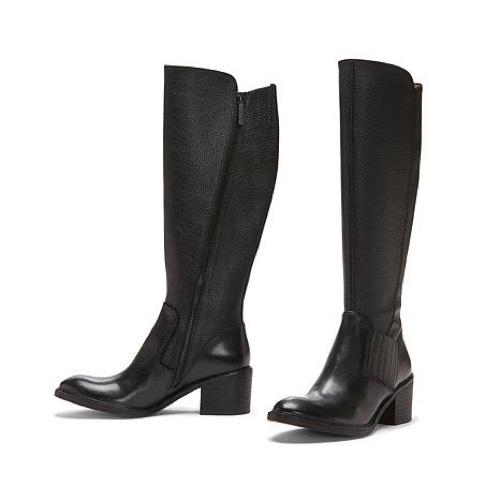 store cheap online fashion Style for sale Donald J Pliner Knee-High Leather Boots genuine outlet choice exWFtUo7