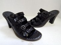 Donald J. Pliner Italy Black Sandals