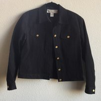 Doncaster Black Womens Jean Jacket
