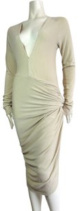 Donna Karan short dress Biege on Tradesy