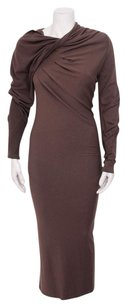 Donna Karan York Mauve Dress