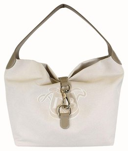 Dooney & Bourke Canvas Large Lock Sac Shoulder Bag