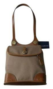 Dooney & Bourke Coach Louis Vuitton Satchel in Tan