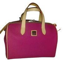 Dooney & Bourke Olivia Satchel in Hot pink