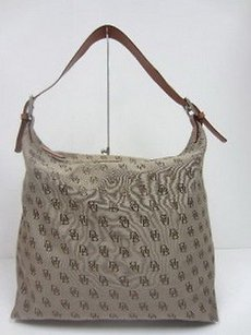 Dooney & Bourke Fabric Logo Handbag 40700gc Shoulder Bag