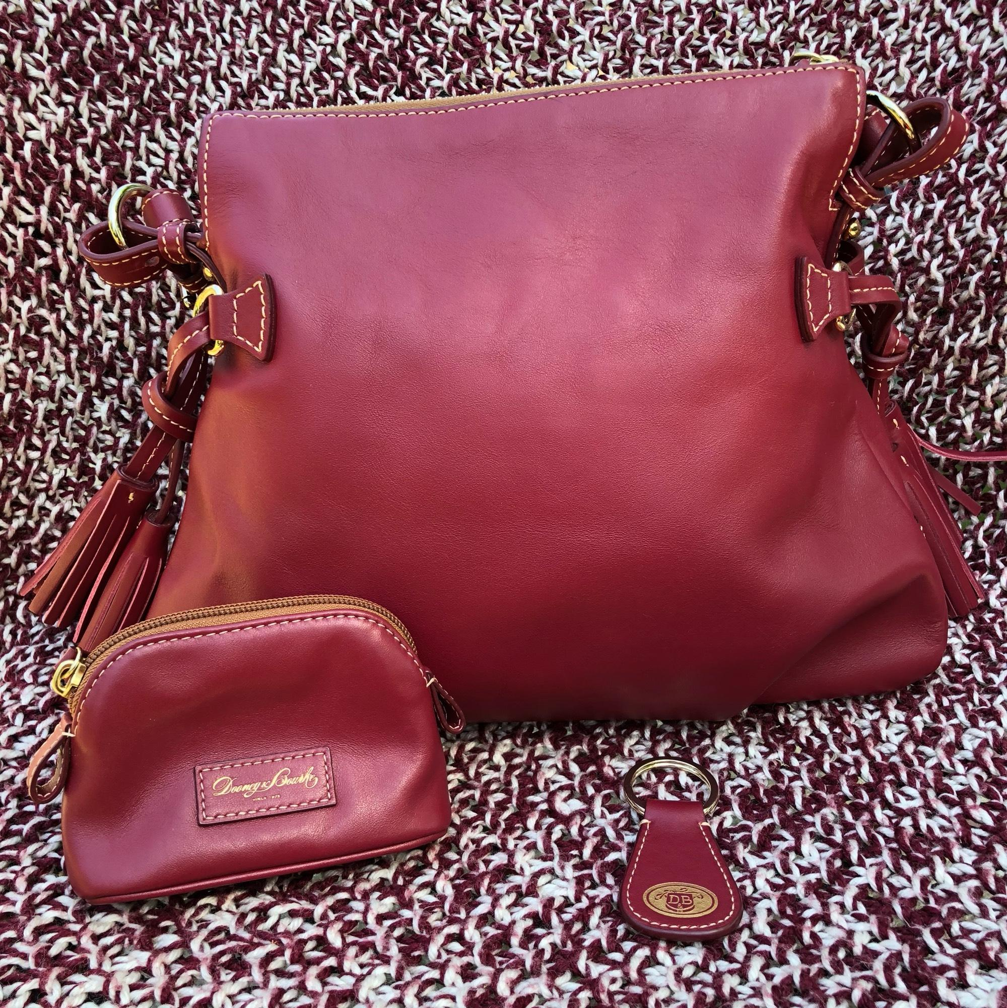 ... coupon dooney bourke teagan mulberry smooth leather hobo bag tradesy  c9a24 403bf ef66f020c9b1f