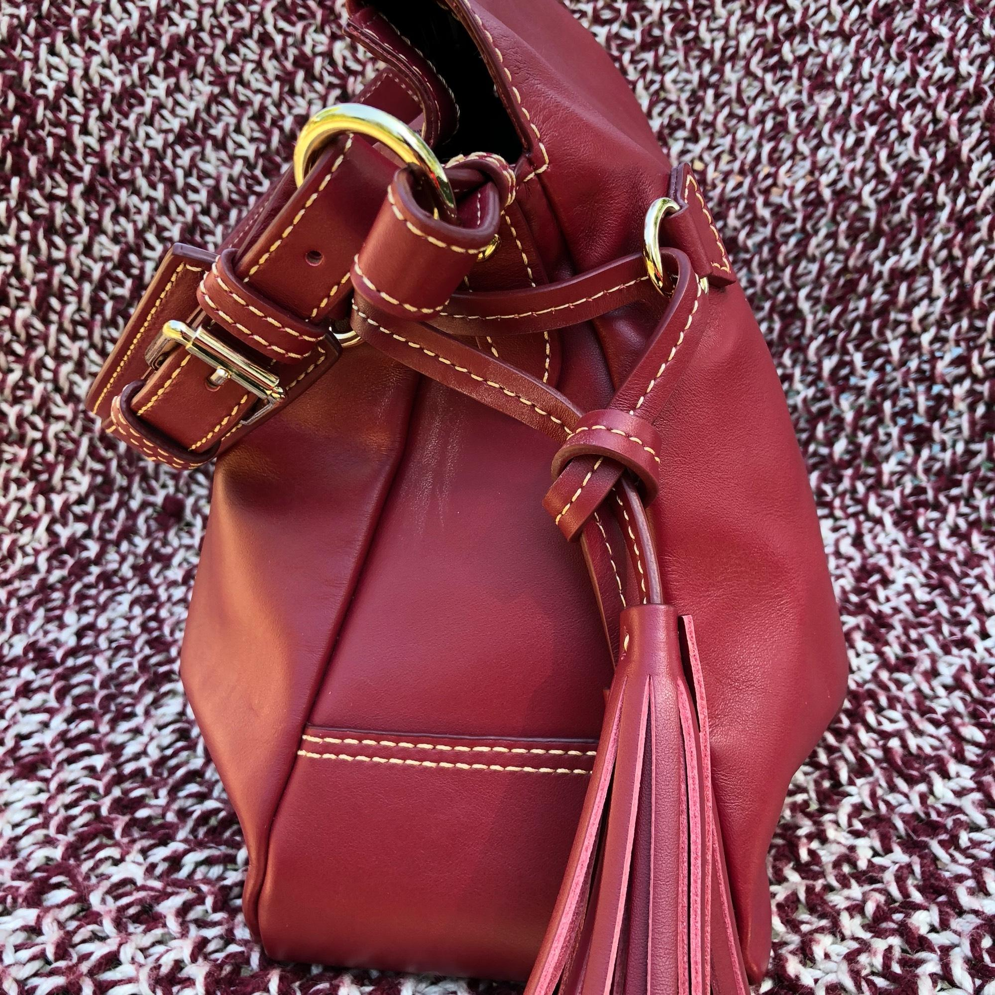 ... coupon dooney bourke teagan mulberry smooth leather hobo bag tradesy  01259 7a84f ... cab59dc0a0f72