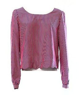 Double Zero Pink Striped Top Pinks