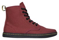 Dr. Martens Sneaker Stitching Lace Up Signature Cherry Red Boots