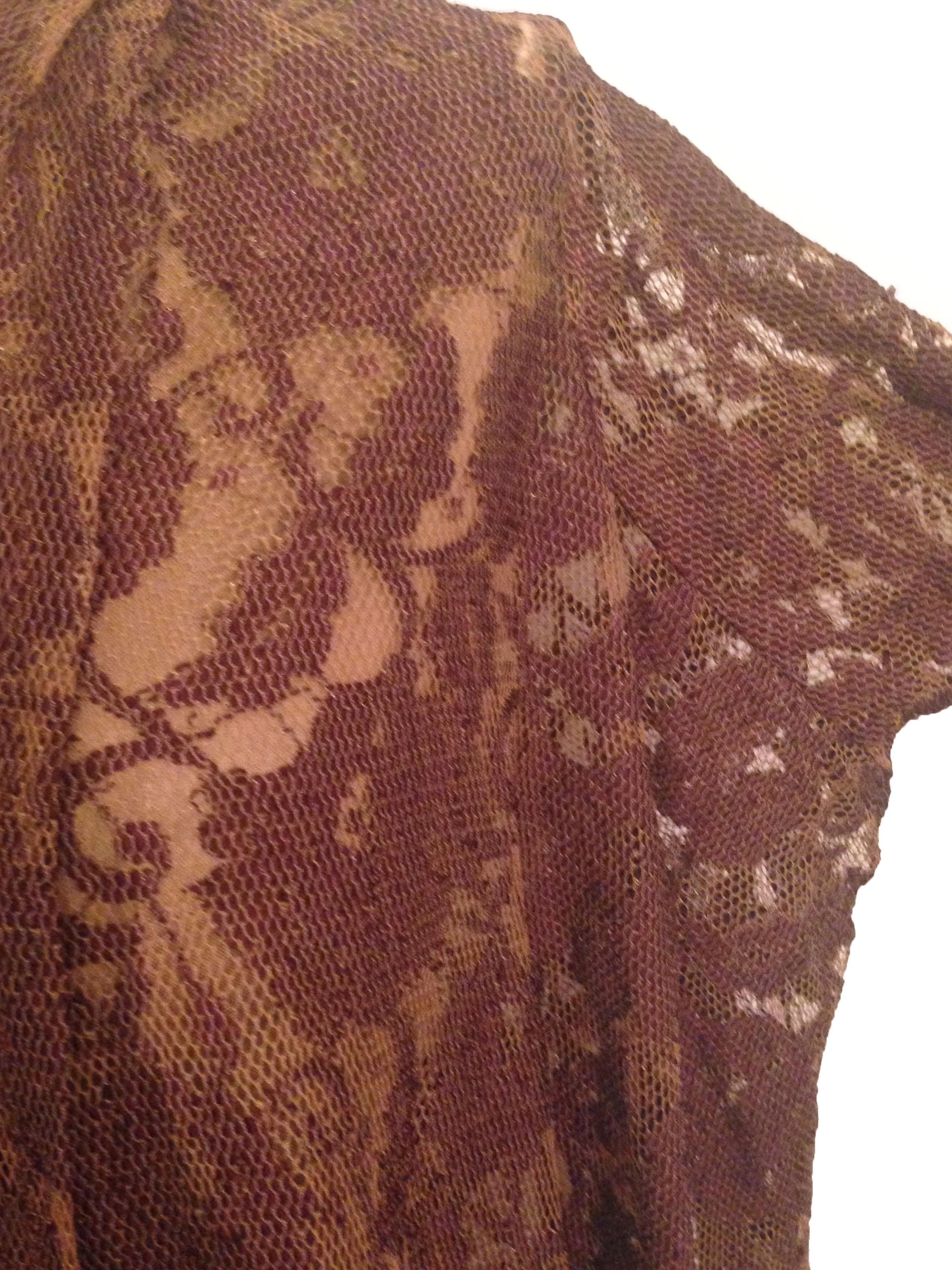 Long Sleeve Lace Shawl