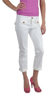 Dsquared Capris Cropped Relaxed Pants White