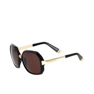 DSquared Dsquared Womens Blackgold Dq Oversized Butterfly Square Sunglasses