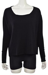 DUFFY Womens Scoop Neck Sweater