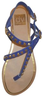 DV by Dolce Vita Thong Studded Blue Sandals
