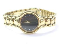 Ebel Ebel Beluga 18k Yellow Gold 866960 Womens Dress Diamond Watch