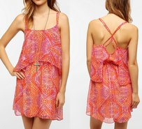 Ecote Urban Outfitters Multicolor Dress
