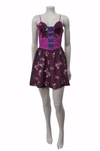 Ecote short dress Purple-pink Purple Pink Floral on Tradesy