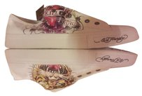 Ed Hardy Mens Lowrise White New White/Multi Athletic