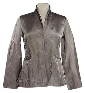 Eileen Fisher Womens Beige Jacket