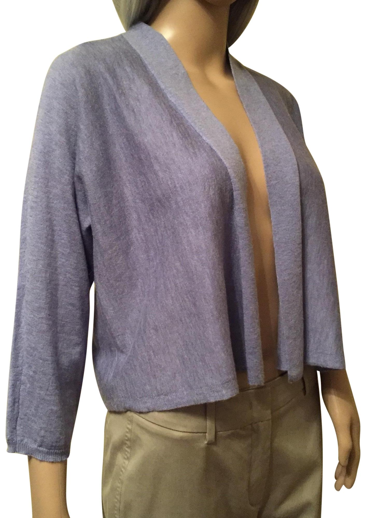 Lavender Cropped Cardigan 41