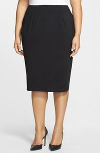 Eileen Fisher New With Tags Pencil Rayon Skirt