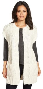 Eileen Fisher Thick Soft Cotton Cables Cardigan