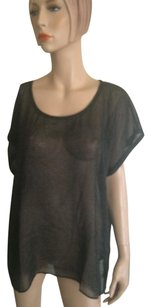 Eileen Fisher Top Black Grey