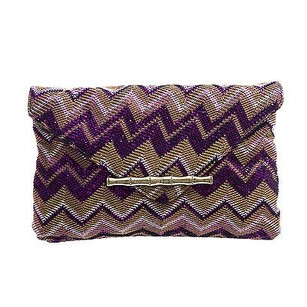 Elaine Turner Purple Clutch