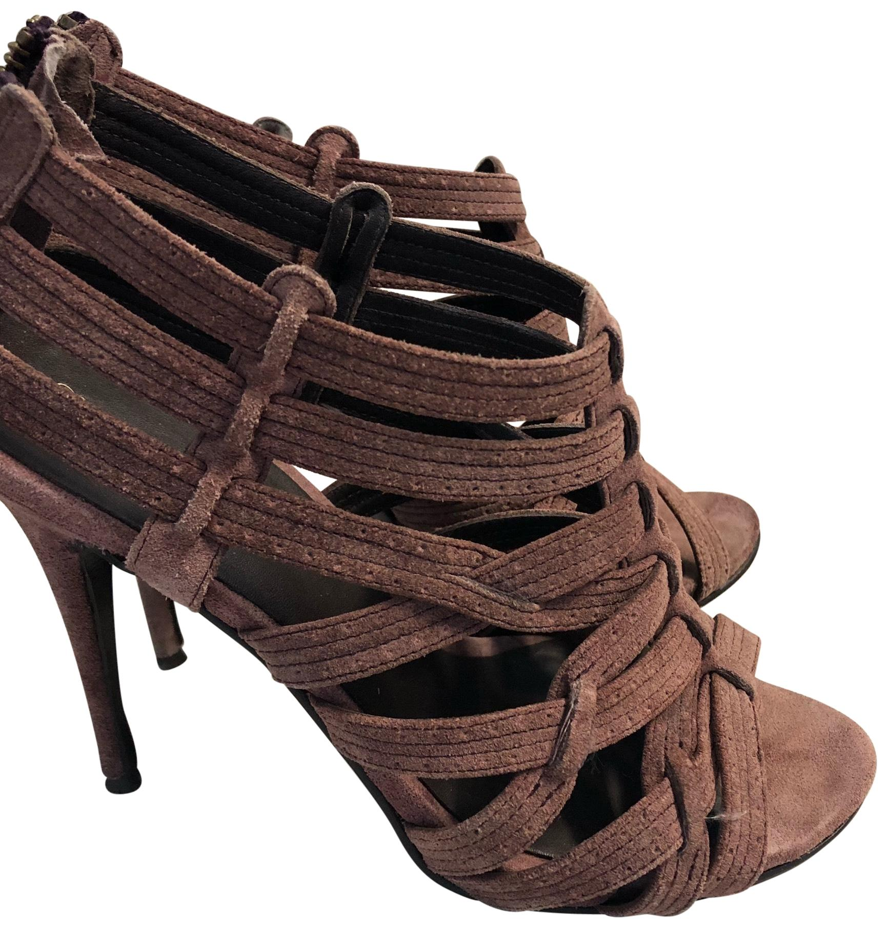 Elizabeth and James Suede Caged Sandals great deals cheap online JZ6XdA