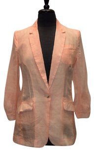 Elizabeth and James Elizabeth And James Sheer Jamie Single Button Jacket Blazer
