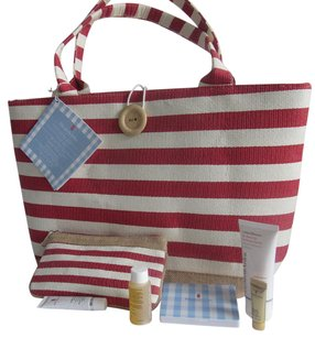 Elizabeth Arden Tote in Red/White