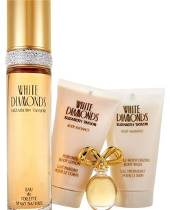 Elizabeth Taylor 4-Piece White Diamonds Fragrance Gift Set
