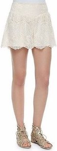 Ella Moss Natura Lace Dress Shorts Ivory
